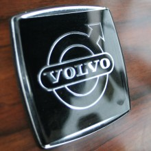 Volvo dashboard badge