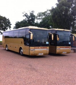 Two Flagship Coaches